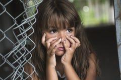 Acht Jahre alte Schulmädchen Lizenzfreies Stockfoto