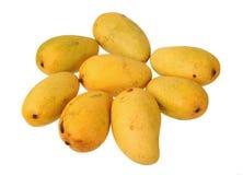 Acht Mangos Stockfoto