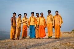 Acht Pilger Lizenzfreies Stockbild