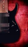 Acht-Schnur-Gitarre Stockfotografie