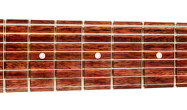 Acht-Schnur-Gitarre Fretboard Lizenzfreies Stockfoto