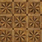 Acht-spitzer Stern des natürlichen hölzernen Hintergrundes, nahtlose Beschaffenheit des Schmutzparkett-Designs für Innenraum 3d Lizenzfreie Stockfotos