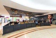 Acht Unzen-Kaffeestube, Mall Suria KLCC Stockfoto