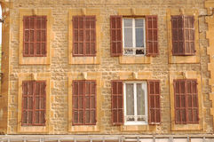 Acht Windows Stockbild