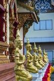 Acht Zahlen, die Buddha beten Lizenzfreie Stockfotos