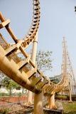 Achtbaan in Thailand Royalty-vrije Stock Fotografie