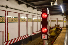 Achte Alleen-U-Bahnstation - New York City Stockfotografie