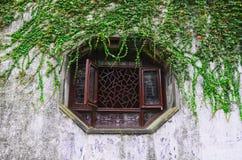 Achteck-Fenster Lizenzfreies Stockbild