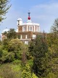 Achteck-Raum des königlichen Observatoriums in Greenwich Stockfotos