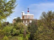 Achteck-Raum des königlichen Observatoriums in Greenwich Lizenzfreies Stockfoto