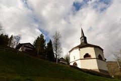 Achteckige Kapelle, Heiderscheidergrund, Luxemburg Stockfotos