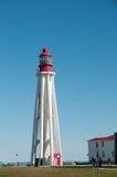 Achteckiger Leuchtturm Stockbild