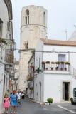Achteckiger Turm des Heiligen Michael Archangel Sanctuary Lizenzfreie Stockfotografie