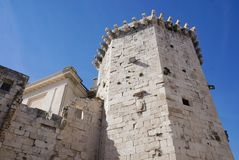 Achteckiger venetianischer Turm in der Spalte Stockfotografie