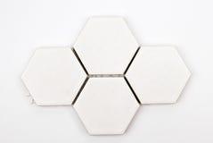 Achteckiges keramisches des Fußbodens Lizenzfreies Stockbild