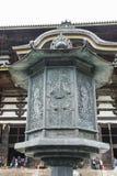 Achteckiges Laternen-Turm TÅ  Dai-ji Nara Japan Stockfotos