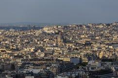 Achter Arrondissement von Paris und von Kirche von St Augustine Stockfotografie