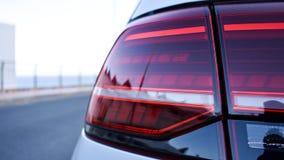 Achter autolicht stock afbeelding
