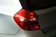 Achter deel van luxeauto royalty-vrije stock afbeeldingen