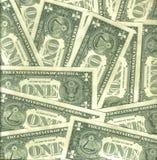 Achter dollarachtergrond Royalty-vrije Stock Foto's