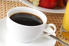 Achter koffie stock foto's