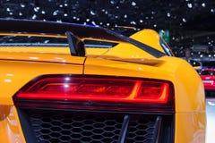 Achter licht Audi R8 Stock Afbeelding