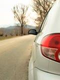 Achter licht van een auto Stock Afbeelding