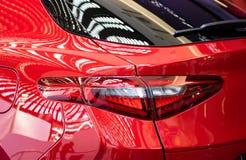 Achter Licht van Moderne Auto stock afbeeldingen