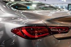 Achter Licht van Moderne Auto royalty-vrije stock afbeelding