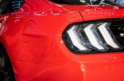 Achter Licht van Moderne Auto royalty-vrije stock foto's