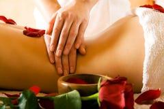 Achter Massage Royalty-vrije Stock Afbeeldingen