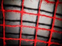 Achter rode barsachtergrond In gevangenschap stock afbeeldingen