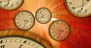 Achter in time concept