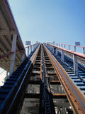 Achterbahn Stockbild