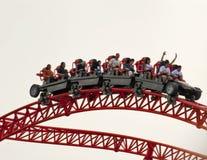 Achterbahn im Zeder-Punkt Lizenzfreie Stockfotos
