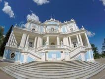 Achterbahn Katalnaya Gorka Pavillon 1762-1774, Oranienbaum Lomonosov, Russland Stockfotos