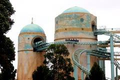 Achterbahn, Reise nach Atlantis, SeaWorld, San Diego, Kalifornien Stockbild