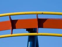 Achterbahn-Spur Stockfotografie