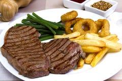 Achterdeellapje vlees Royalty-vrije Stock Afbeelding