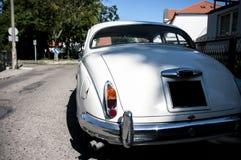 Achtereind van een retro auto Stock Foto