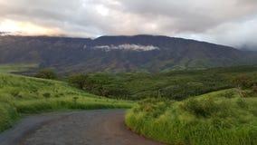 Achtereind van Haleakala, Maui Stock Foto's
