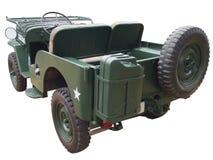 Achtereind van jeep Stock Foto's