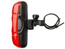 Achterfietslamp stock afbeelding