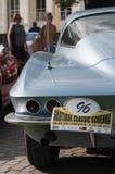 Achtergedeelte het klassieke cars_2015_Chevrolet Korvetcoupé van de het Zuid- van Tirol Royalty-vrije Stock Afbeeldingen
