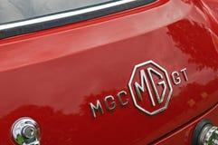 Achtergedeelte van de Klassieke Britse Sportwagen van MGC GT Royalty-vrije Stock Foto