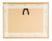 Achtergedeelte van Houten Frame Stock Fotografie