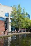 Achtergedeelte van ICC, Birmingham stock foto
