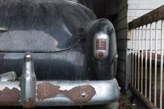 Achtergedeelte van Klassieke Auto royalty-vrije stock afbeelding