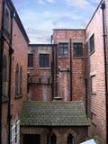 Achtergedeelte van Oude Gebouwen in Chester Stock Foto's