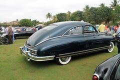 Achtergevel klassieke Amerikaanse auto Stock Afbeelding